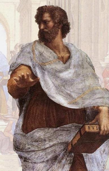 Aristote surement une des figures les plus influentes et les plus importantes de la philosophie grec