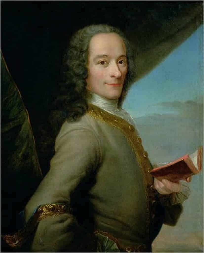 Voltaire figure crucial de l'époque des lumières